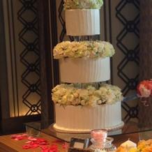 華やかなケーキ