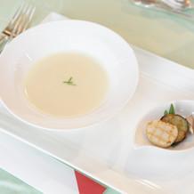 ホタテのビスクスープ 選ぶ価値アリ