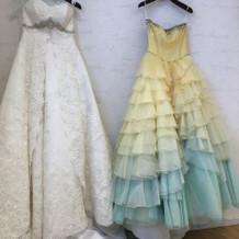 ウエディングドレスは桂由美です!