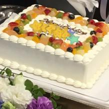 32人分のケーキ