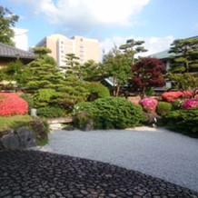渭水苑の日本庭園。