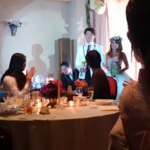 模擬結婚式に参加したときの写真です。