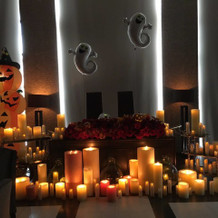 ハロウィンの装飾