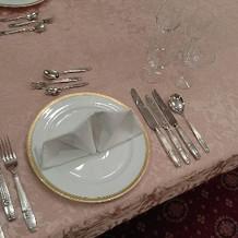 テーブルです