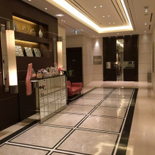 会場のエレベーターホールです。