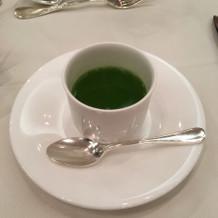 フカヒレの入った洋風茶碗蒸し