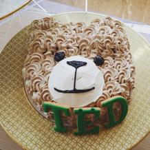 Tedケーキ