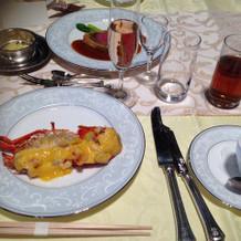 海老のお料理です。美味しかったです