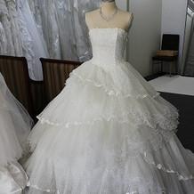 飾ってあったとっても可愛いドレス☆