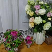 ブーケと花束