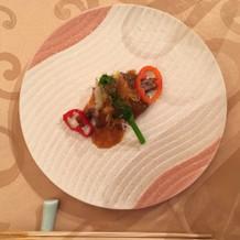 会食会での和食 お肉料理