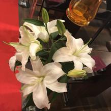 教会のお花