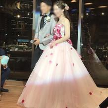 お気に入りのドレス