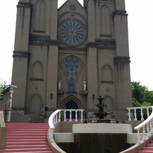 大聖堂がとても大きいです。