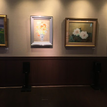 待合室の絵画