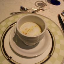 こちらのスープ美味しいですよ!