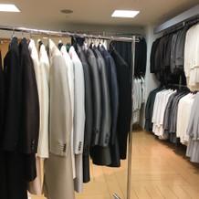 新郎の衣装室