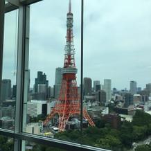 33階の披露宴会場からの景色です