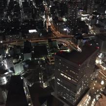 42階からの夜景