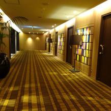 会場の廊下