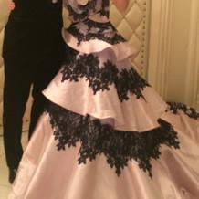 レンタルしたカラードレス♪