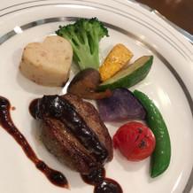 新鮮なお野菜とお肉
