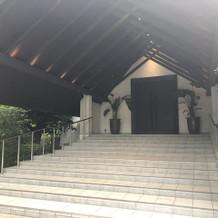 オリエンタルチャペル大階段