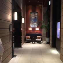 オリエンタルホテルのエントランス