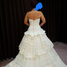 提携衣装屋さんのウェディングドレス