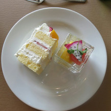 デザート(ケーキは別途料金)