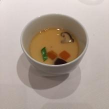 小海老の茶碗蒸し