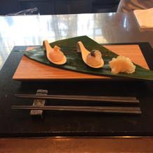 寿司バーの演出もできます