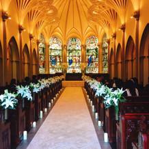 大聖堂が写真で見るより素敵だった。