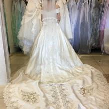 本番で着用したドレス・挙式時