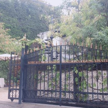 とても素敵な門構え。一目惚れしました。