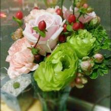可愛い花束貰っちゃいました!