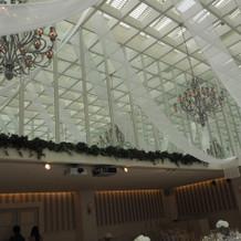 グレースヴィラの天井の雰囲気