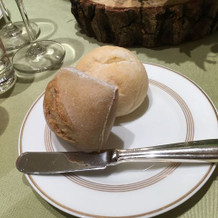 コースのパン