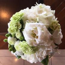 会場のお花も綺麗でした!
