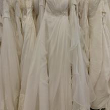 ドレスの種類が多い