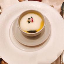 前菜 コーンスープ