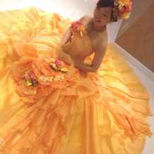 カラードレス☆お姫様ショット第二弾☆