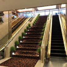 大きい階段