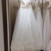 本番で選んだドレス