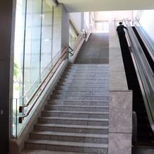 階段のフォトスポット
