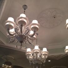 水色の天井でコーディネートしやすそう。