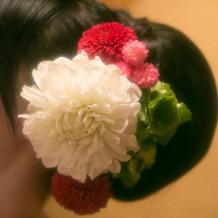 生花と造花でイメージ通りに