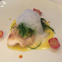 メイン料理(魚)