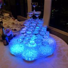 シャンペンタワー