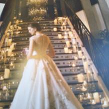 カタログに載っているドレスです。